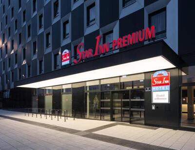 Foto degli esterni Star Inn Hotel Premium Wien Hauptbahnhof, by Quality