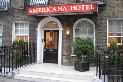 Foto del exterior de Americana Hotel