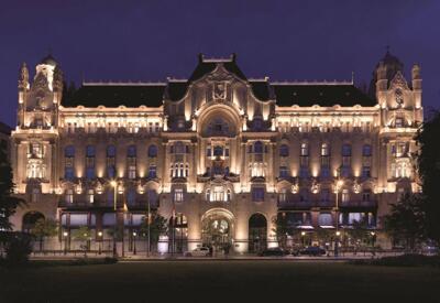 Foto del exterior de Hotel Four Seasons Gresham Palace