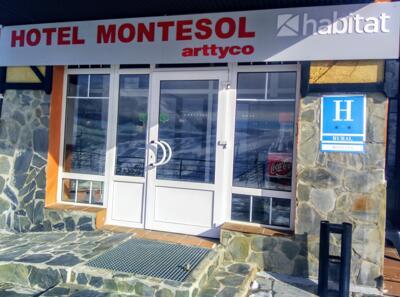 Foto degli esterni Hotel Montesol Arttyco