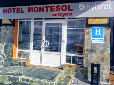 Foto do exterior - Hotel Montesol Arttyco