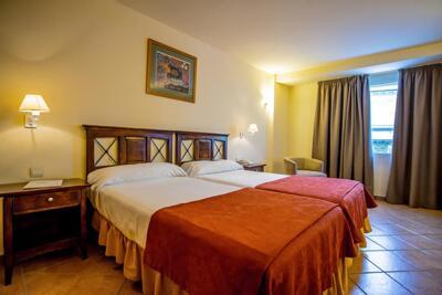 Foto de una habitación de Hotel Telecabina
