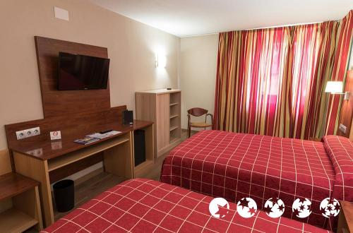 Foto de una habitación de Hotel Best Andorra Center
