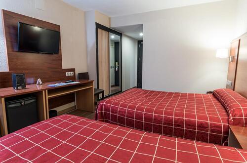 Foto de una habitación de Hotel Andorra Center