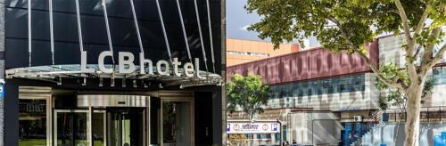 Foto del exterior de LCB Hotel Fuenlabrada