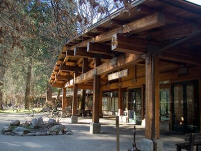 Exterior Yosemite Valley Lodge Formerly At The Falls