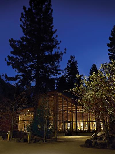 Photo Yosemite Valley Lodge Formerly At The Falls