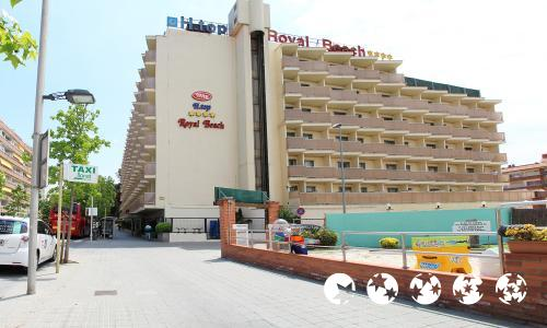 Foto del exterior de H·TOP Royal Beach
