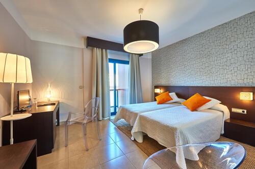Foto de una habitación de Hotel Benahoare