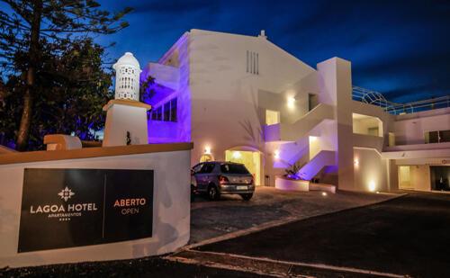 Foto do exterior - Lagoa Hotel