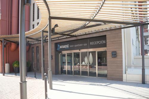 Foto del exterior de Hotel y Aparthotel Acuazul