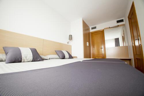 Foto de una habitación de Hotel y Aparthotel Acuazul