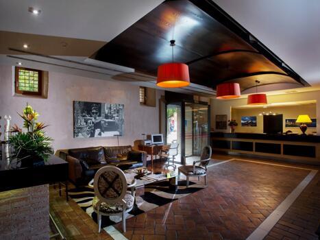 Foto de las zonas nobles de Hotel Monasterio Benedictino