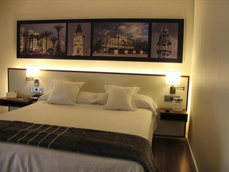 Foto de una habitación de Hotel Primus Valencia