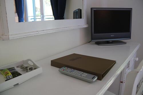 Foto de una habitación de Hotel Les Rotes