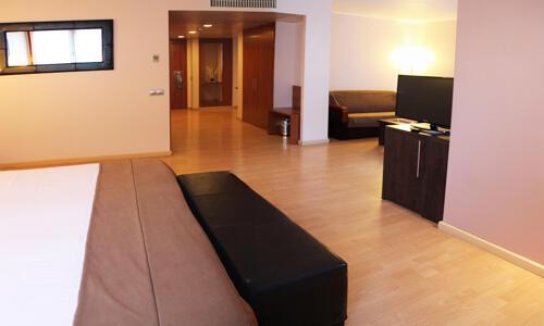 Foto de una habitación de Acta Arthotel