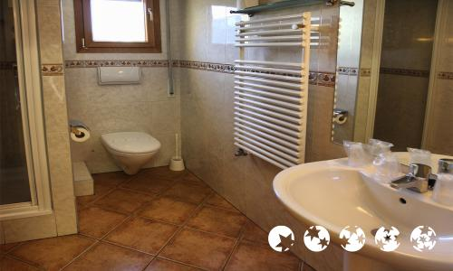 Foto del baño de Apartamentos Glaç Soldeu 3000