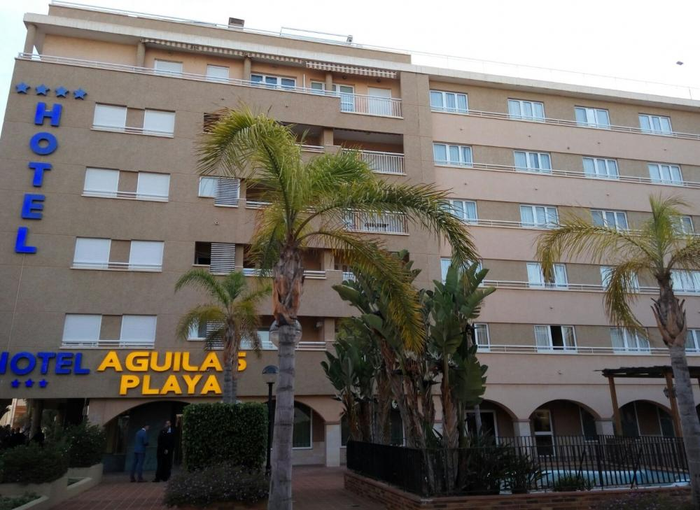 Hotel aguilas playa guilas for Aparthotel d or jardin de playa