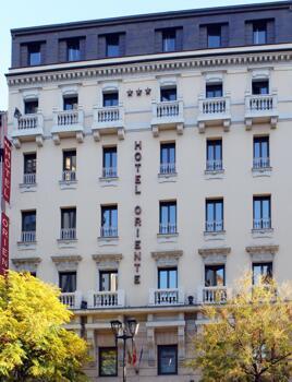 Foto del exterior de Hotel Oriente