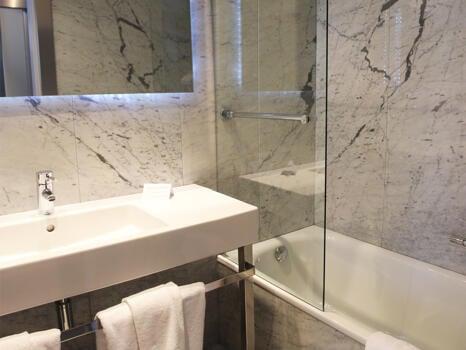 Foto del baño de Hotel Chiqui