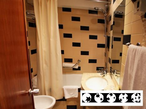 Foto del bagno Hotel Roma