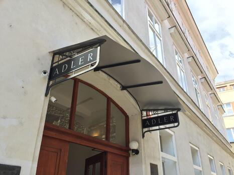Foto degli esterni Hotel Adler