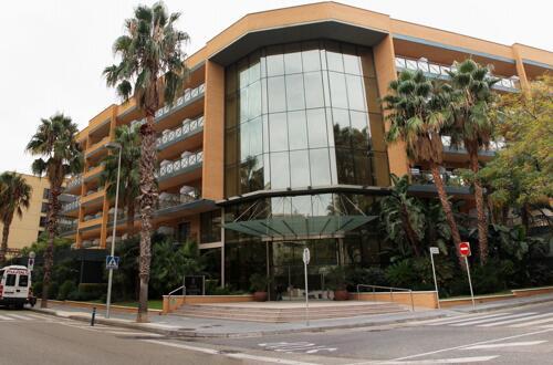 Foto del exterior de Hotel California Palace