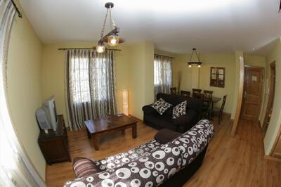 Foto de una habitación de Apartamentos Casa Menchiques