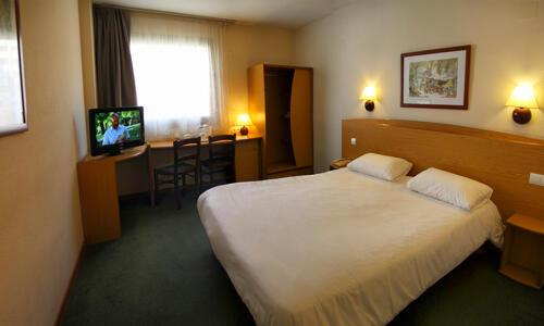 Foto de una habitación de Campanile Alicante