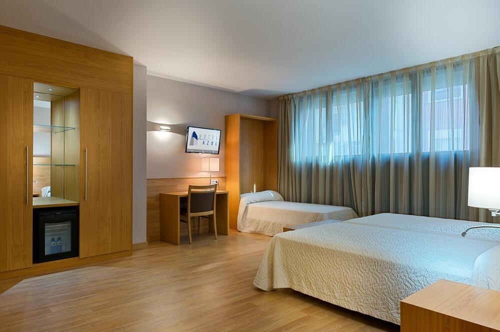 Hotel acta azul barcelona barcelona Habitacion hotel barcelona