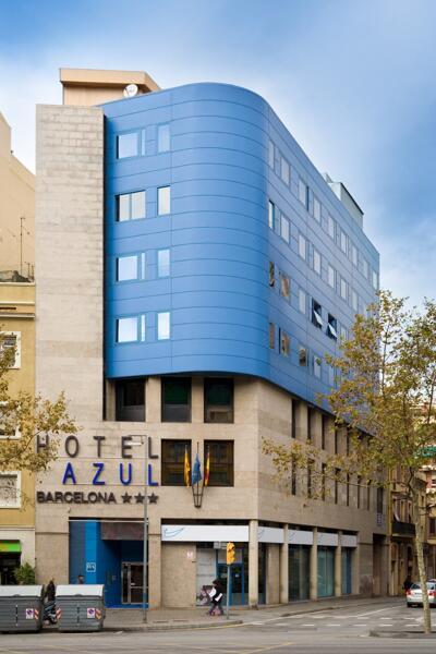 Foto del exterior de Hotel Acta Azul Barcelona