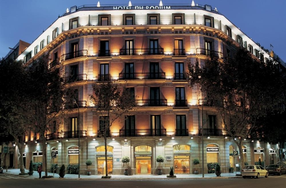 Hotel nh collection barcelona podium barcelona - Nh hotel podium barcelona ...