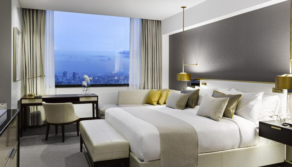 Hotel fairmont rey juan carlos i barcelone for Chambre hote barcelone
