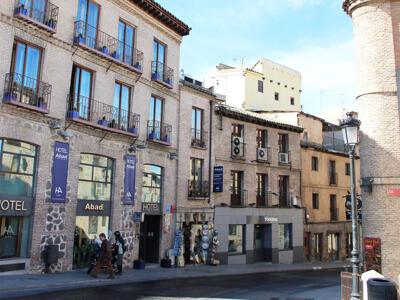 Foto degli esterni Hotel Abad Toledo