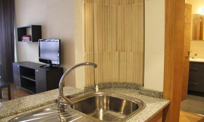 Foto de una habitación de Compostela Suites