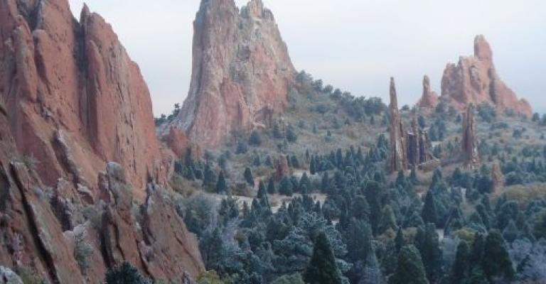Fotografía de Colorado: Garden of the Gods, Colorado Springs