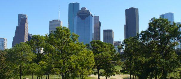 Picture United States: Skyline Houston