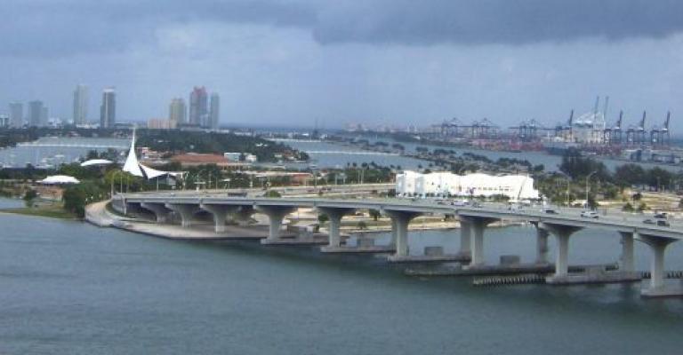 Foto von Vereinigte Staaten: Vista hacia Miami Beach desde Miami