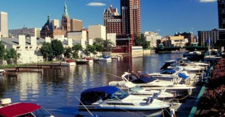 Foto von Wisconsin: Marina en Milwaukee