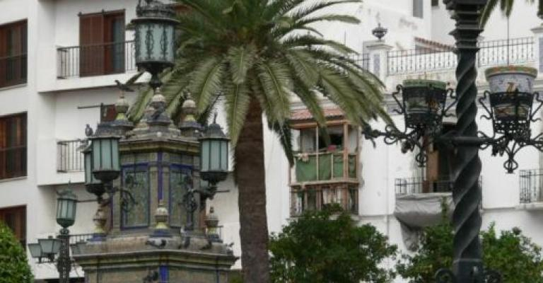 Picture : La plaza de Algeciras