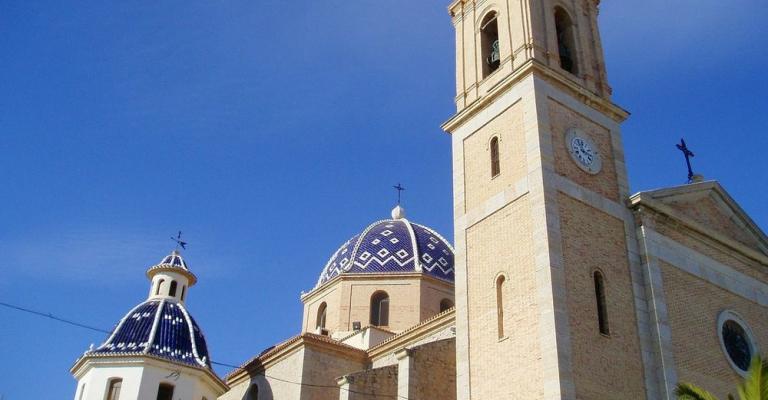 Fotografía de Altea: Altea iglesia