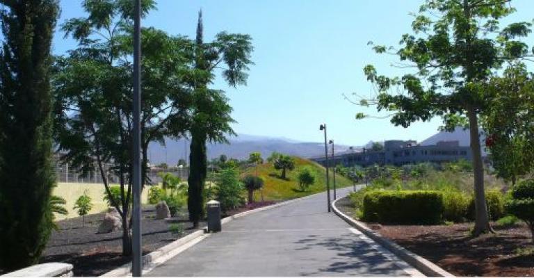 Picture : El Parque Central de Arona