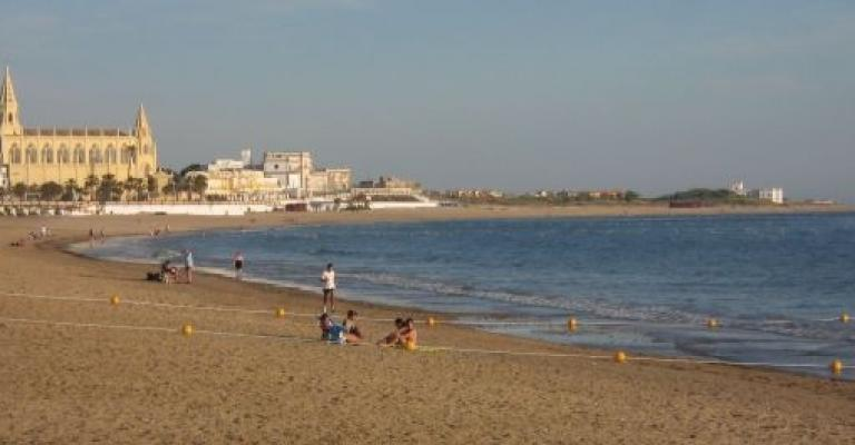 Foto Chipiona: La Playa de Regla, Chipiona