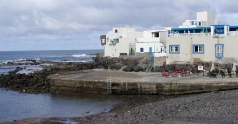 Foto : El puerto de El Cotillo