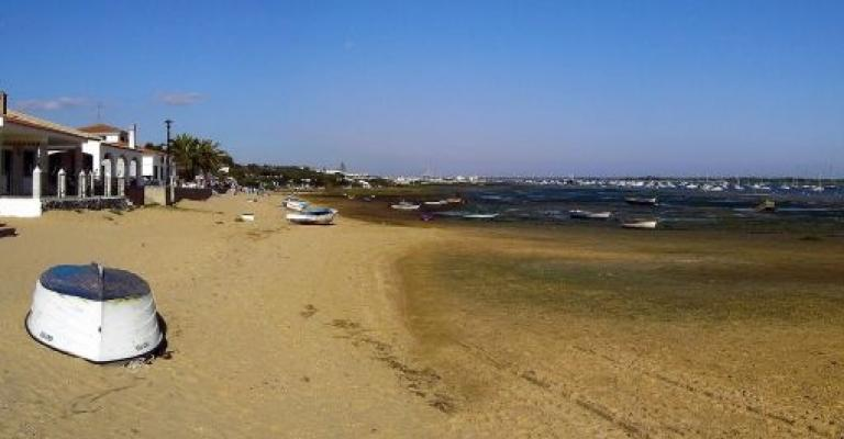Photo : Barcos en El Rompido, Huelva