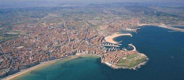 Fotografía de Gijón: Vista Aérea