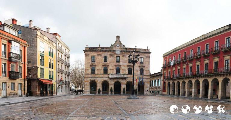 Picture : Gijón plaza