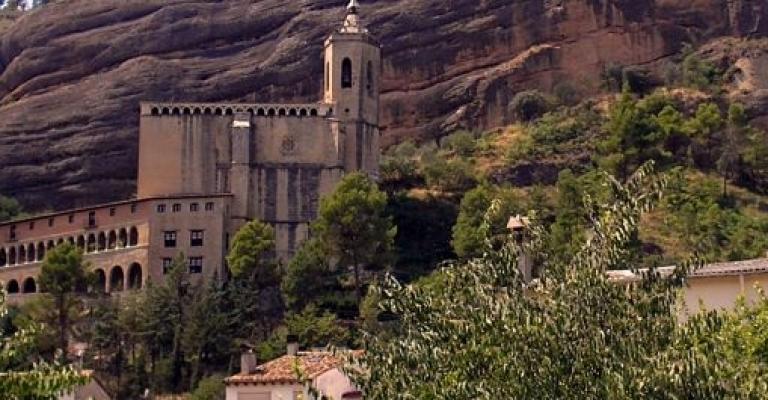 Foto von Graus: El Sanctuario de Nuestra Señor de la Peña