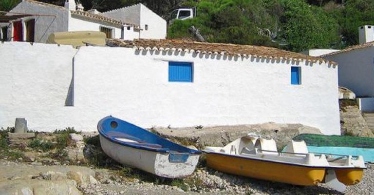 Foto Comunità Valenzana: Casetas de pescadores Marina Alta