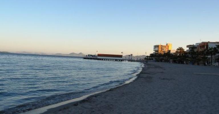 Fotografía de Murcia: Playa de los Alcázares